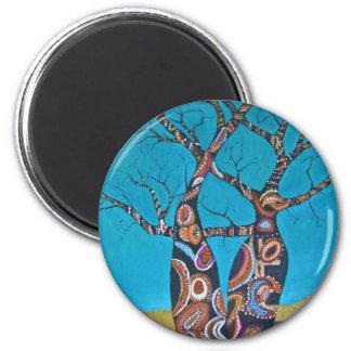 Boab Tree Fridge Magnets