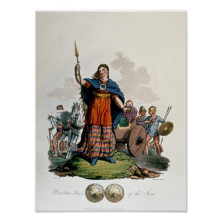 Boadicea, Queen of the Iceni Poster