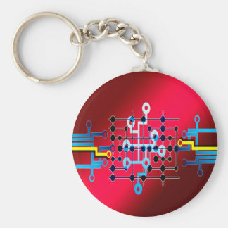 board circuits trace control cente key ring