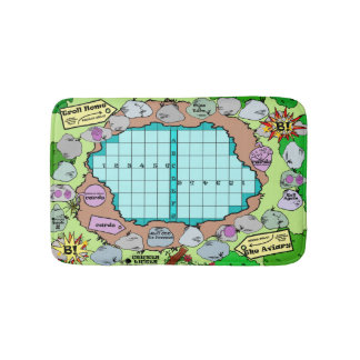 Board Game Bath Mat! Bath Mat