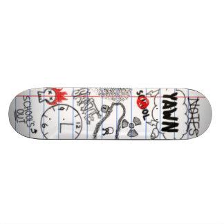 Board in School Skate Board Deck