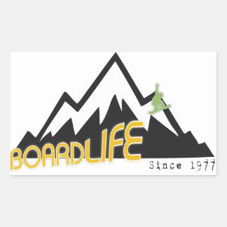 Board life sticker