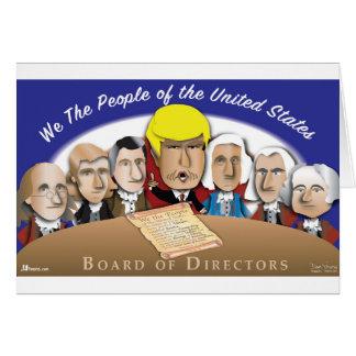 Board of Directors Card