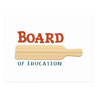Board Of Education Postcard