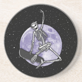 Board Skeleton Coaster
