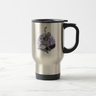 Board Skeleton Travel Mug