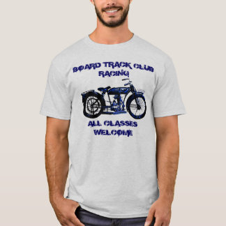 Board Track Motorcycle Racing T-Shirt