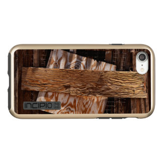 Boarded Up Old Wooden House Window Incipio DualPro Shine iPhone 8/7 Case