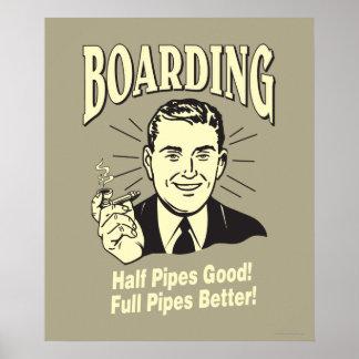 Boarding:Half Pipe's Good Full Better Poster