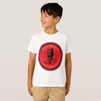 Boarding School Dropouts Kids T-Shirt (Logo #4)