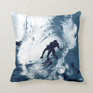 Boarding Trybe Tube, Hawaiian Surf Graphic Cushion