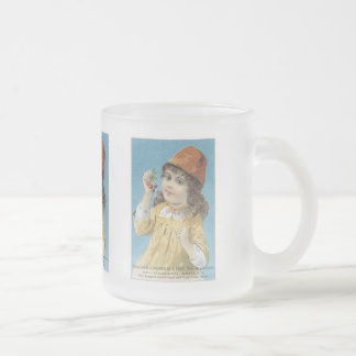 Boardman and Grey Frosted Glass Mug