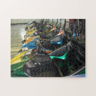 Boardwalk Bumper Cars Rehoboth Beach, DE Photo Jigsaw Puzzle