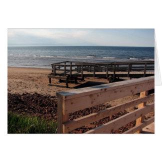 Boardwalk, Prince Edward Island Greeting Card