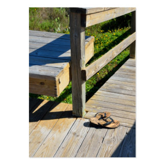 Boardwalk to the Beach Large Business Cards (Pack Of 100)