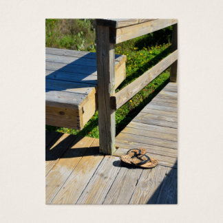 Boardwalk to the Beach Business Card