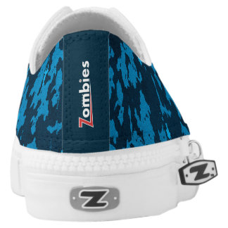 BoardZombies Low Top Sneakers Blue Camouflage