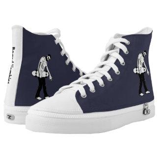 BoardZombies Walk Hi Top White Grey Foot Wear
