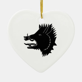 Boars R Us Ceramic Ornament