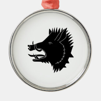 Boars R Us Metal Ornament