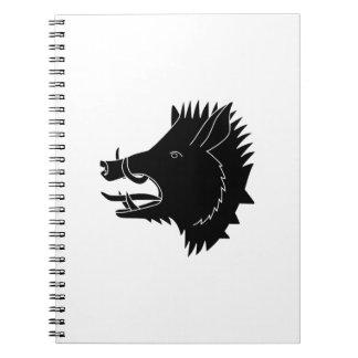 Boars R Us Spiral Notebook