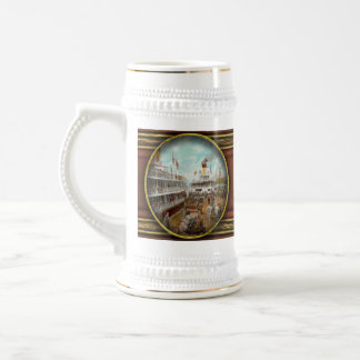 Boat - A vacation to remember - 1901 Beer Stein