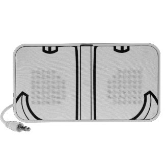 Boat Anchor Icon iPod Speakers