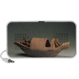 Boat and crew, tomb artefact portable speakers