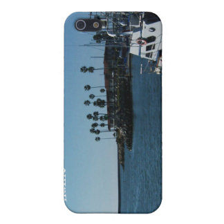 Boat at Oceanside (customize) iPhone 5/5S Case