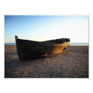 Boat at Sundown Photo Print