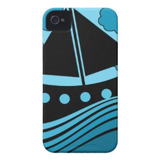 Boat - blue Case-Mate iPhone 4 case