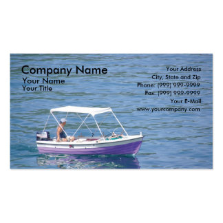 Boat Business Card Template