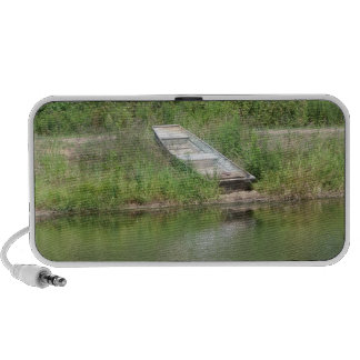 Boat by Lake Doodle Mp3 Speakers