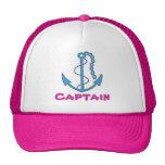 Boat Captain Baseball Cap