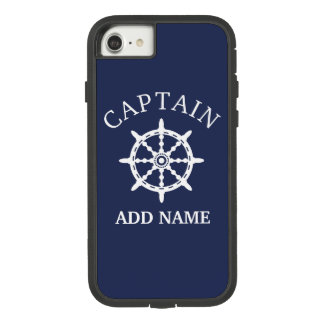 Boat Captain (Personalize Captain's Name) Case-Mate Tough Extreme iPhone 8/7 Case