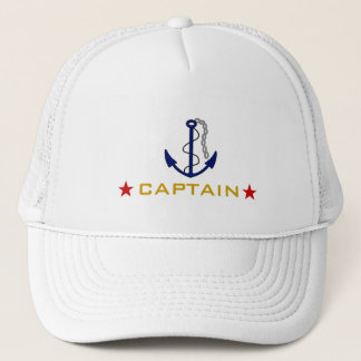 Boat Captain Trucker Hat