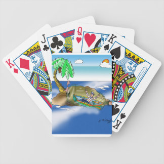 Boat Cartoon 9418 Bicycle Playing Cards
