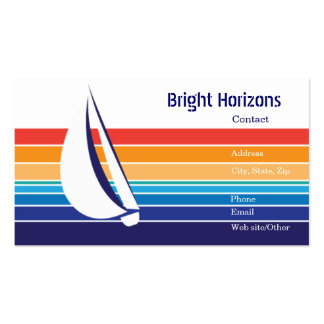 Boat Color Square_Office Package Business Card Template