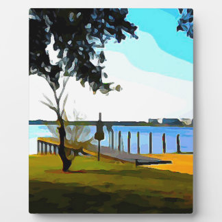 Boat Dock Lake Baldwin Photo Plaques