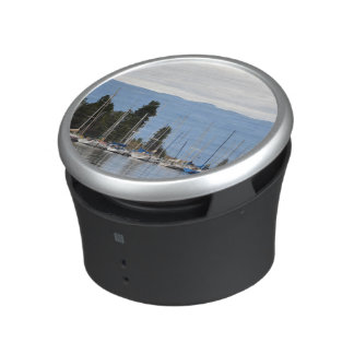 Boat Dock on Flathead Lake Bluetooth Speaker