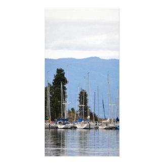 Boat Dock on Flathead Lake Photo Card