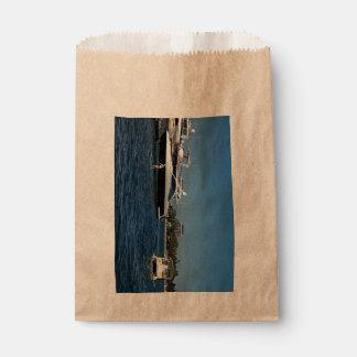Boat favor bag
