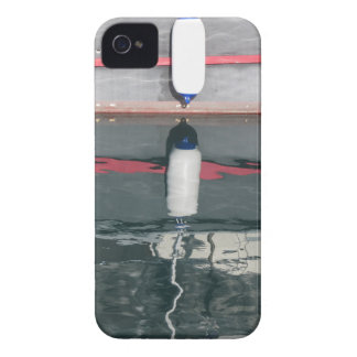 Boat fenders hanging on the board iPhone 4 cover