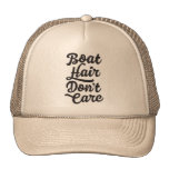 Boat Hair Don't Care Mesh Hat