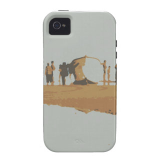 Boat in the beach iPhone 4/4S covers