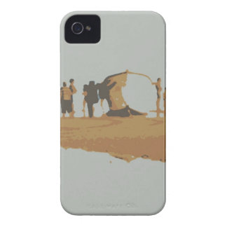 Boat in the beach iPhone 4 Case-Mate cases
