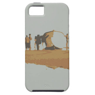 Boat in the beach iPhone 5 covers