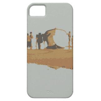 Boat in the beach iPhone 5 case