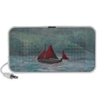 Boat in the Rain Mini Speakers