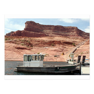 Boat, Lake Powell, Arizona, USA 2 Postcard